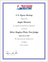 Congratulations Angie Simants